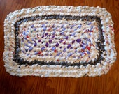 Lilac Plarn Plastic Bag Outdoor Rug