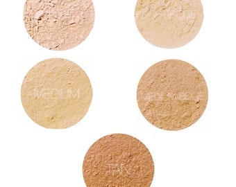 Mineral Makeup Foundation Samples • Natural Vegan & Gluten-Free Makeup • Earth Mineral Cosmetics Brand