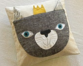Princess Pwrr pillow cover