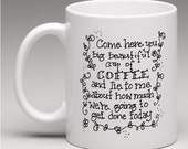 Lie to Me Coffee Cup