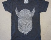 Viking T Shirt | Charcoal Black