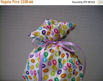 MOTHERS DAY SALE Gift Bag Easter Jelly Beans on White