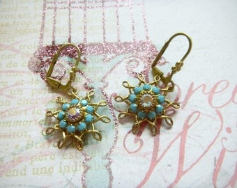 Swarvoski Star Earrings