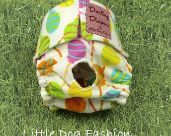 Dog Diapers Lollipops on White