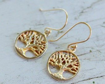 Tree of Life Sterling Silver 925 Dangle