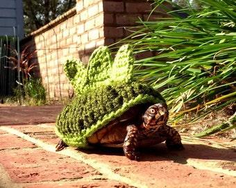Turtle sweater, turtle cozy, Dinosaur costume for turtles. Stegosaurus Dinosaur Box Turtle Sweater Cozy, turtle costume