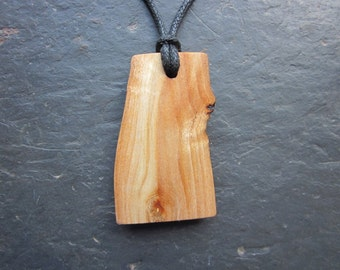 Unique Natural Wood Pendant - Bay - Increases Psychic Powers.