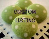"""36 Custom 1/2"""" Buttons"""
