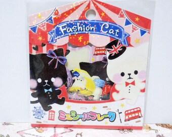 CRUX Sticker Flakes - FASHION CAT - 42 Pieces (05295)