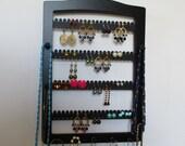 jewelry rack ,FREE SHIPPING!  earring rack ,  earring holder ,  accesory tree,      earring storage  earrings  11 PEG -   80 pairs-