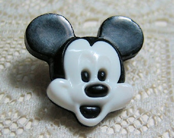 Mickey Mouse Clothing Button