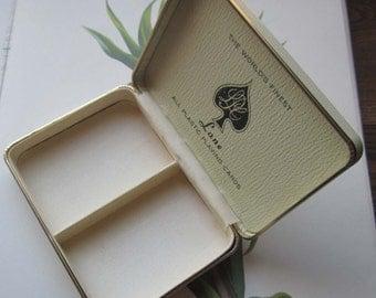 Vintage Box * Vintage Playing Card Box * Lane Vinyl Game Box * Gift Box * Vintage Jewelry Box * Home Decor and Vintage Ideas