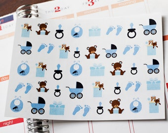 Huge Sale Baby Boy Planner Stickers