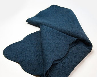 Over dyed Indigo Vintage Antique Quil