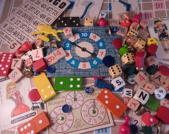 100 Plus Fun and Funky Miscellaneous Game Pieces