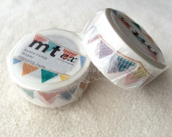mt Washi Masking Tape - Flag Garland