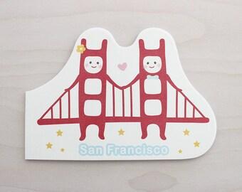 Golden Gate Twins Notebook