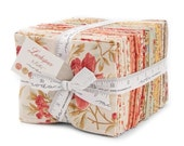 ON SALE Larkspur Fat Quarter Fabric Bundle - Moda - 3 Sisters - 40 FQ