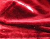 Winter SALE - Antique Velvet Fabric French 19thc