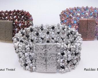TUTORIAL: Luminous Tweed Bracelet