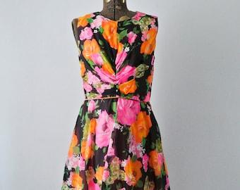 SALE-Designer-60's Summer Dreams Dress- MEDIUM- Miss Rubette
