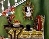Still life painting -Higher Ground- Catherine Nolin 16x12