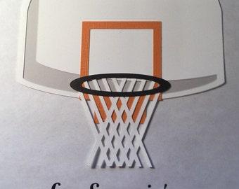 Basketball Hoop Die cut
