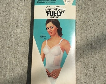 Vintage 1950's Exquisite Form Fully longline Bra  New in box.