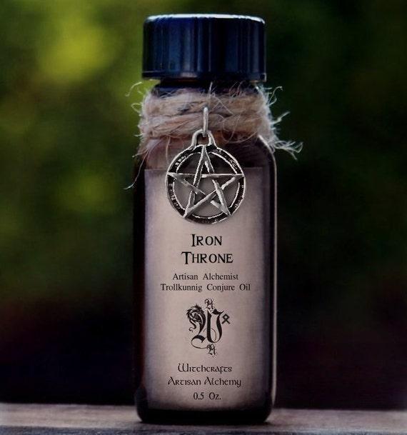 """IRON THRONE™ Old European Witchcraft """"Artisan Alchemist""""™ """"Trollkunnig Conjure Oil""""™ Master Crafted By Witchcrafts Artisan Alchemy"""