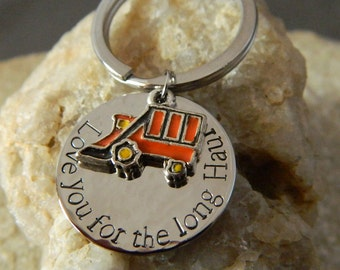 Love you for the long Haul Keychain