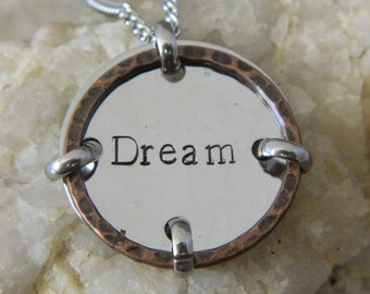 Dream Mixed Metal Necklace