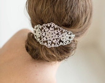 Bridal Headpiece, Wedding Crystal Head Piece, Bridal Hair Accessory, Wedding Headpiece