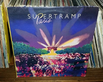 Supertramp Paris Vintage Vinyl Double Album