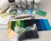 Fusible glass sheets spectrum COE 96 Glass starter package