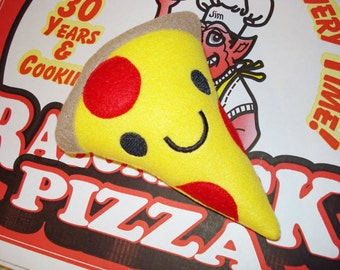 PIZZA Squeaky DOG TOY