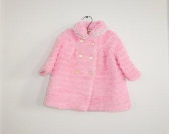Vintage Pink Winter Jacket