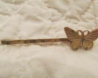 Vintage Butterfly Hairclip Hairpin