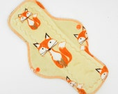 "12"" Postpartum Mama Cloth Pad, Reusable Cloth Menstrual Pad, Made with Foxes Minky, Windpro Fleece, Overnight Pad MotherMoonPads"