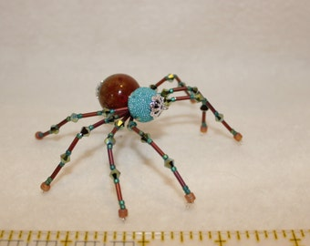 Beaded Christmas Spider