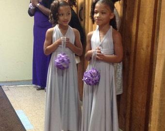 USA, Flower girl dresses, convertible dress, infinity dress, wedding dresses