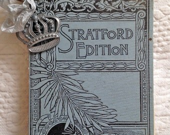 Vintage Book Cover Journal - Art Journal - Scrapbook - Memory Album - Garden Journal - Ephemera - Travel Journal - Salvage Book Cover