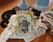 Handmade Sympathy Card - Floral Sympathy Card