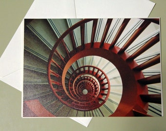 Spiral Staircase Card
