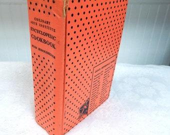 1962 edition Culinary Arts Institute Encyclopedic Cookbook  Ruth Berolzheimer