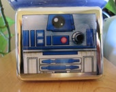 R2D2 8 Day Pill Box Pillbox With Mirror