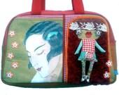 """Bag molly creative bag unique bag n43 """"Miss Shangai"""""""