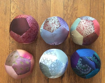 Silk Tie Fabric Ball