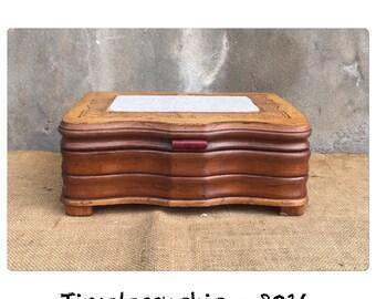Wooden Jewelry Box - Cigar Box - Jewelry Holder - Jewelry Box - Keepsake Box - Wood Box - CHIC