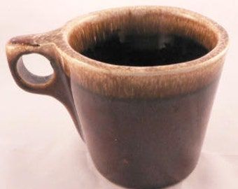 Hull Brown Drip Mugs