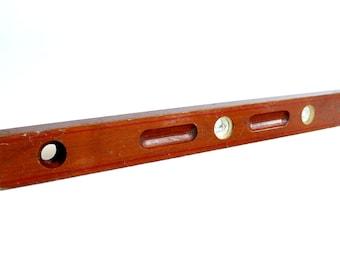 Vintage Peerless Wood Level Carpenter Tool